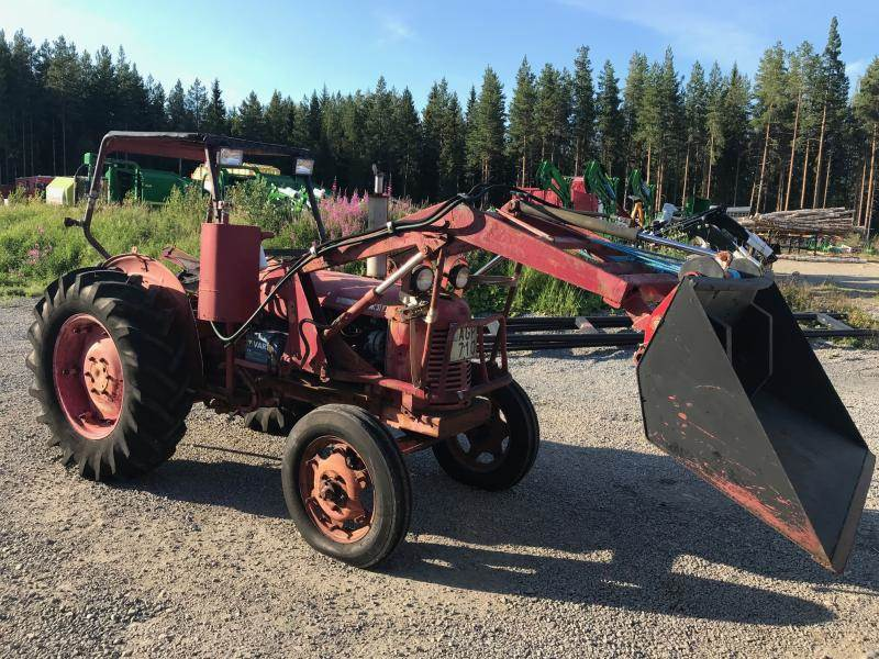 David Brown 31 F, Traktorer, Lantbruk