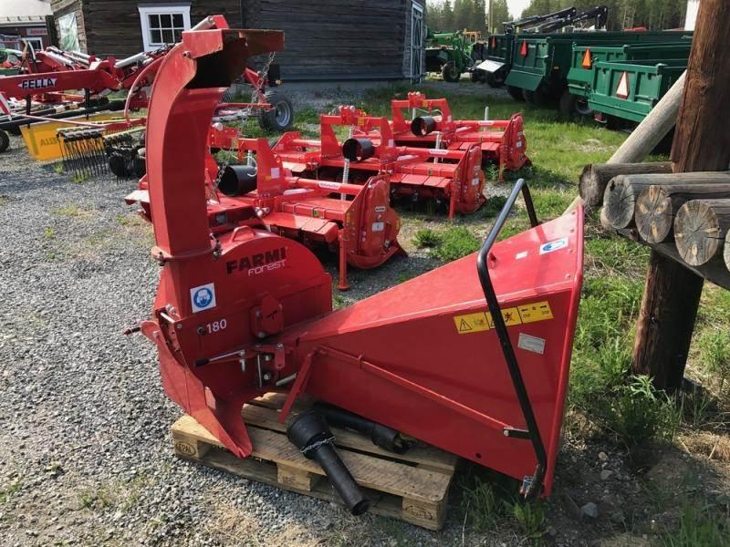 Farmi 180, Övriga skogsmaskiner, Skogsmaskiner