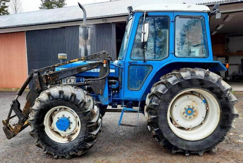 Ford 6610 4WD, Traktorer, Lantbruk