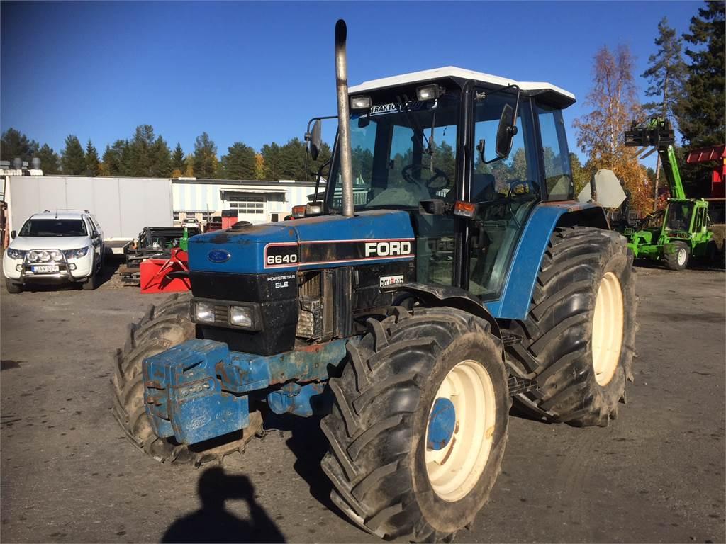 Ford 6640 SLE, Traktorer, Lantbruk