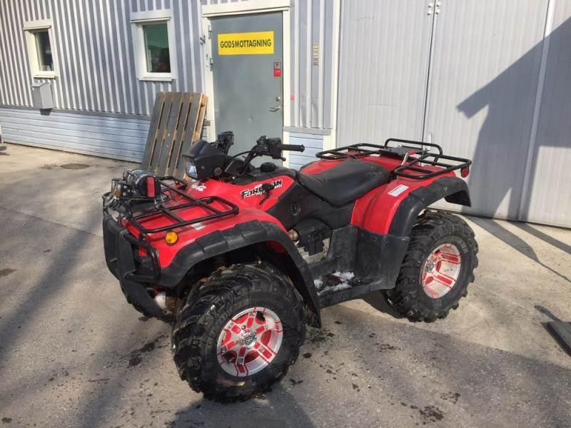 Honda TRX500, Terränghjulingar, Lantbruk