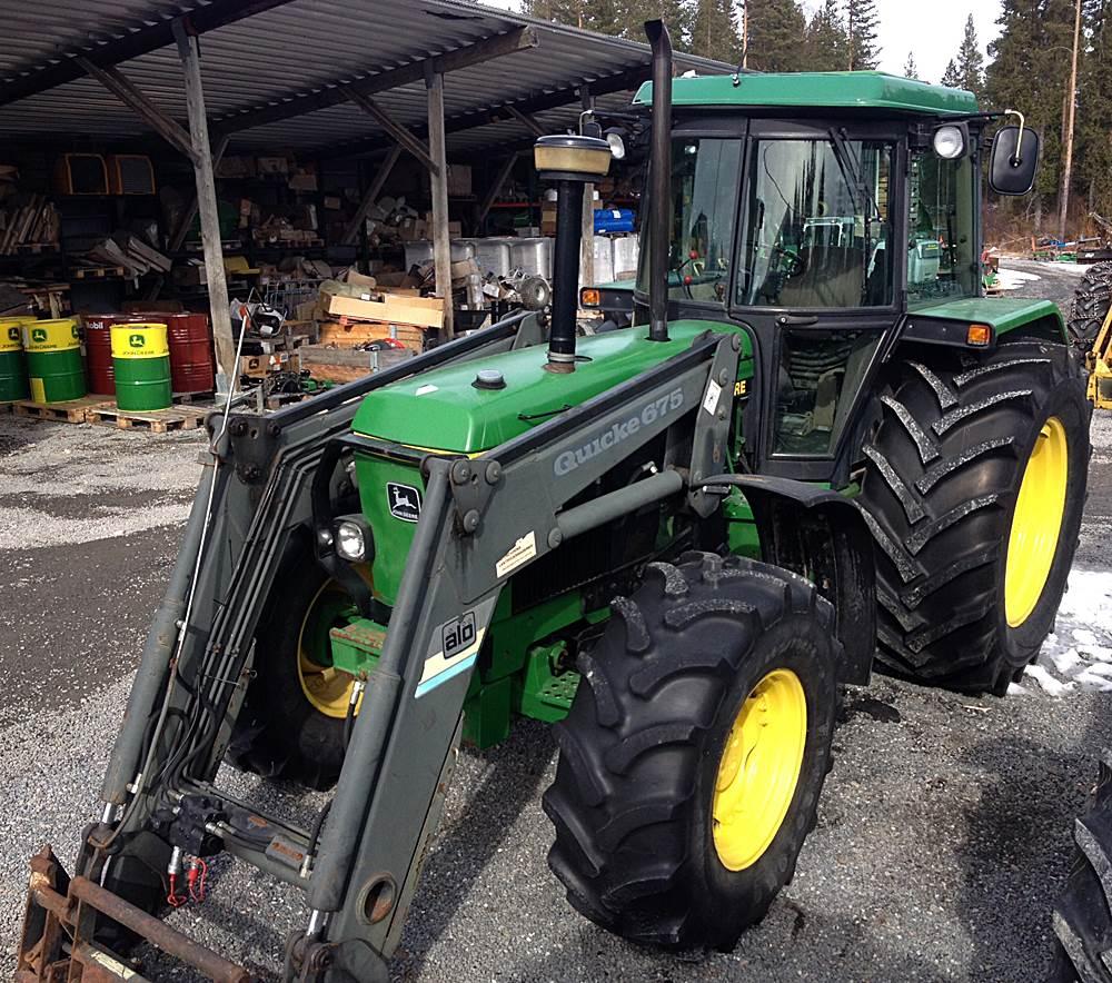 John Deere 3650, Traktorer, Lantbruk