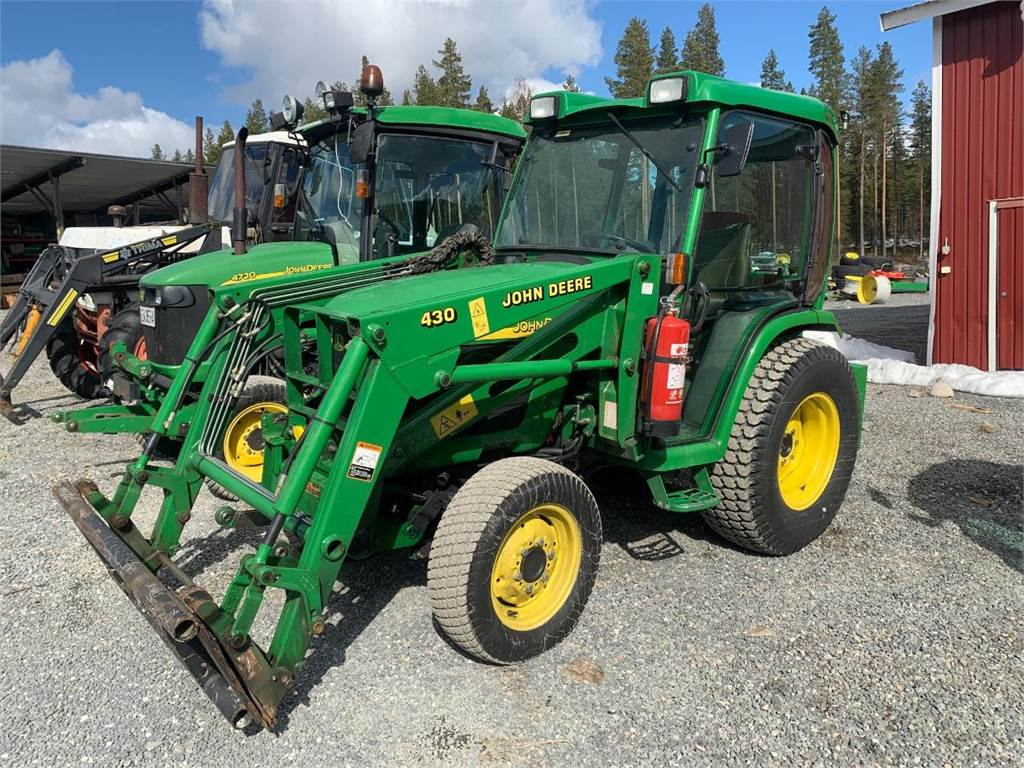 John Deere 4410, Traktorer, Lantbruk