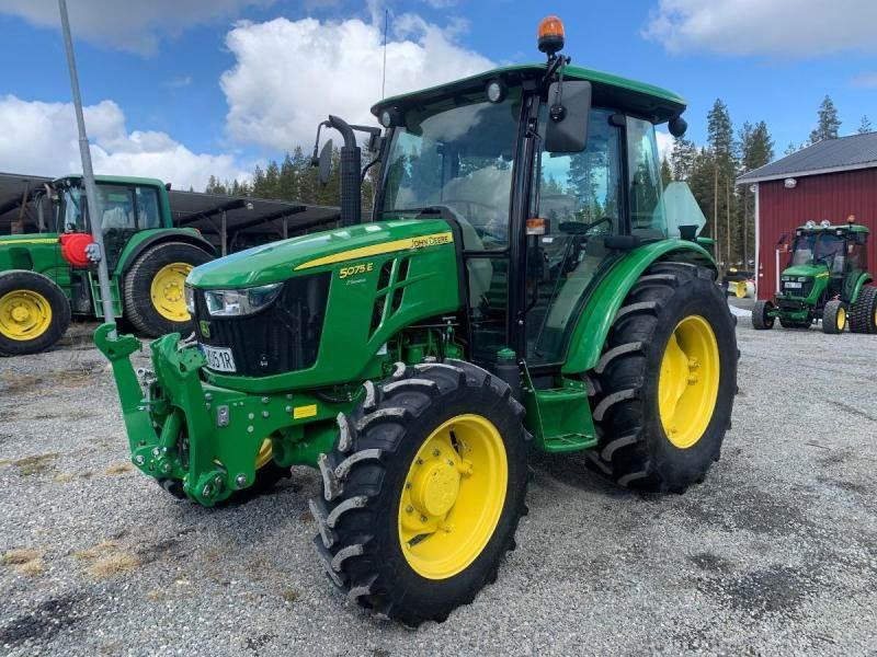 John Deere 5075E, Traktorer, Lantbruk
