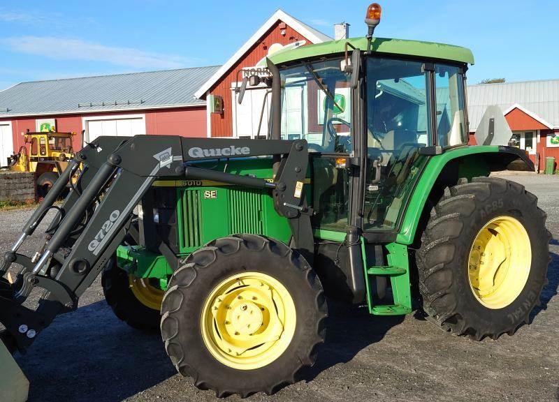 John Deere 6010SE, Traktorer, Lantbruk