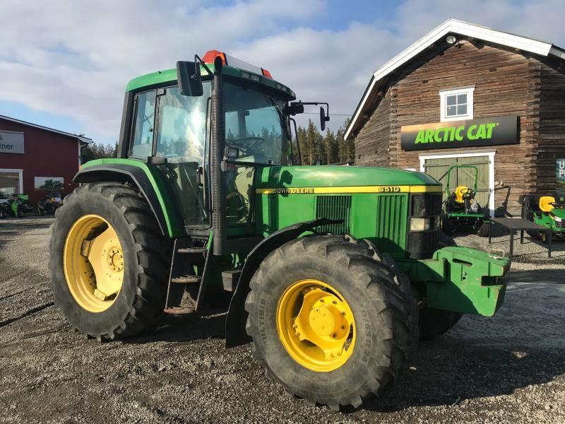 John Deere 6510, Traktorer, Lantbruk