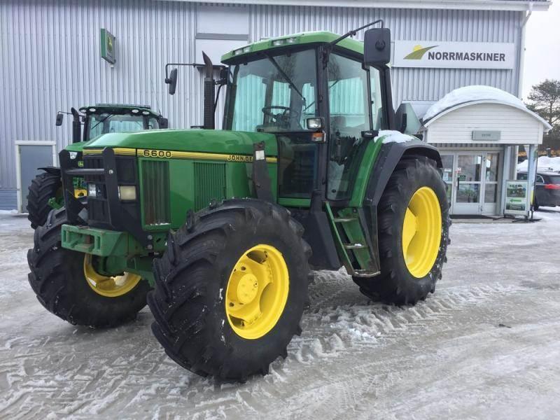 John Deere 6600, Traktorer, Lantbruk