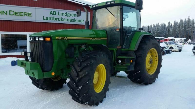 John Deere 8400, Traktorer, Lantbruk