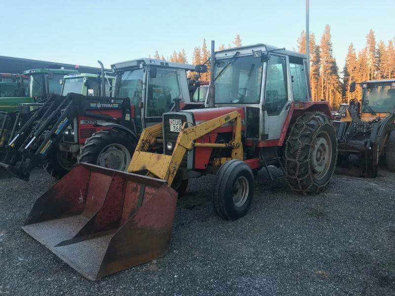 Massey Ferguson 690, Traktorer, Lantbruk
