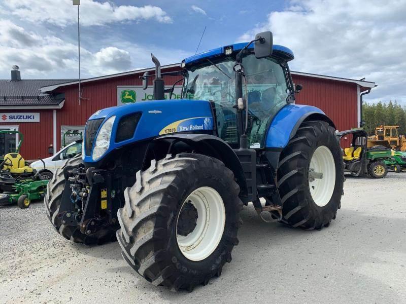 New Holland T7070, Traktorer, Lantbruk