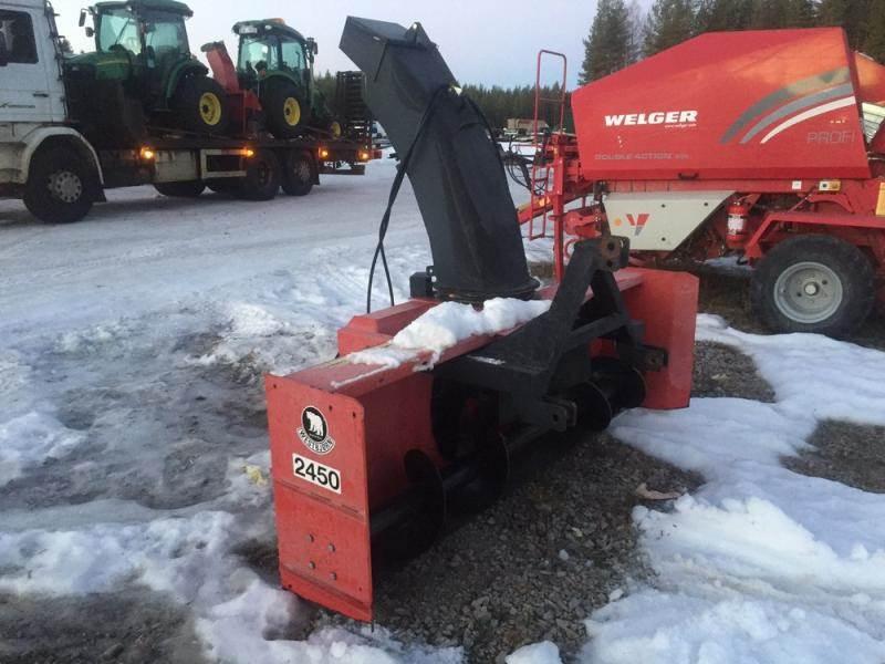 [Other] Westbjörn 2450, Snöslungor och -fräsar, Lantbruk