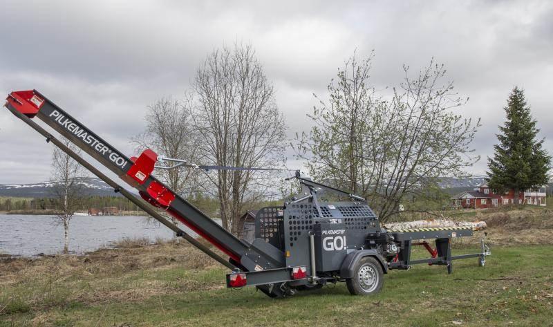 Pilkemaster GO Bensinmotor, Vedklyvar och vedkapar, Skogsmaskiner