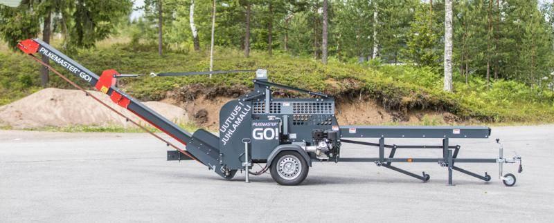 Pilkemaster GO EL, Vedklyvar och vedkapar, Skogsmaskiner