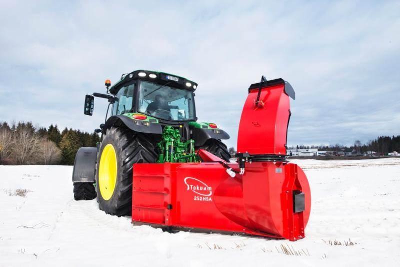 Tokvam 252 HSA, Övrigt väg och snö, Lantbruk