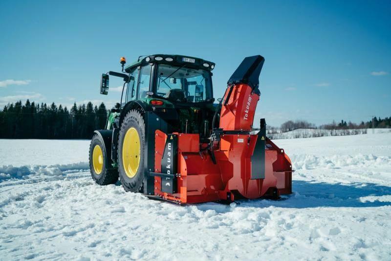 Tokvam 256 THS BIG, Snöslungor och -fräsar, Lantbruk