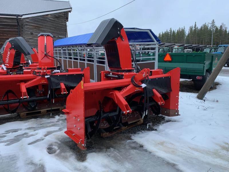 Tokvam 256 THS BIG med hydr.torn, Snöslungor och -fräsar, Lantbruk