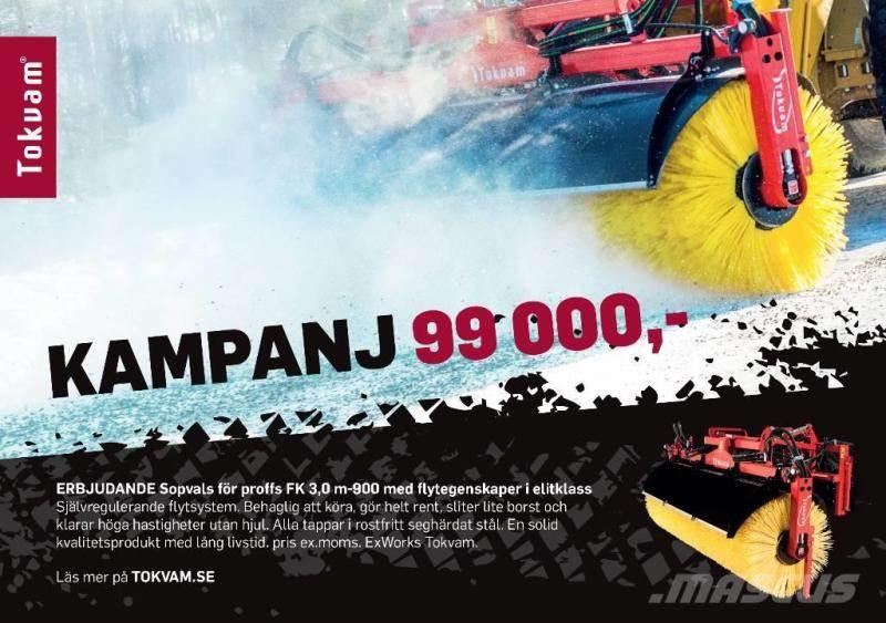 Tokvam FK 3.0M -900mm, Övrigt väg och snö, Lantbruk