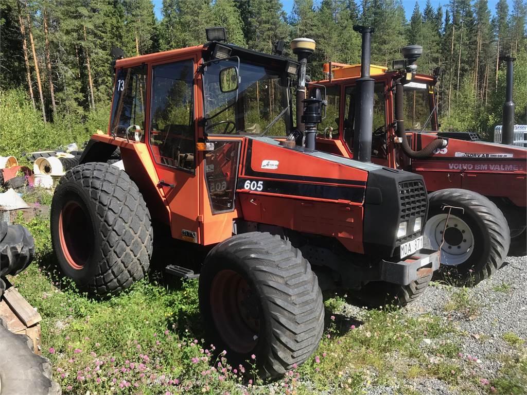 Valmet 605-4, Traktorer, Lantbruk