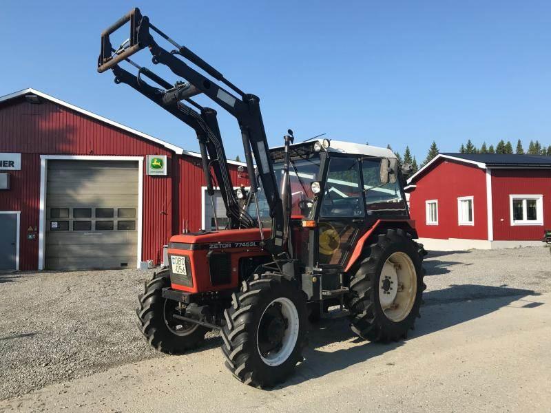 Zetor 7745 SL, Traktorer, Lantbruk