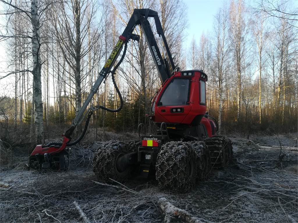 Komatsu 931XC, Harvesters, Forestry Equipment