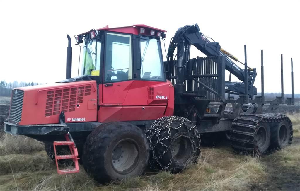 Valmet 840.3, Forwarders, Forestry Equipment