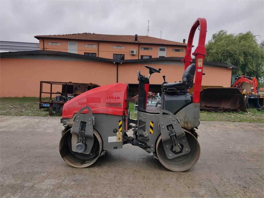 Ammann ARX26, Twin drum rollers, Construction Equipment