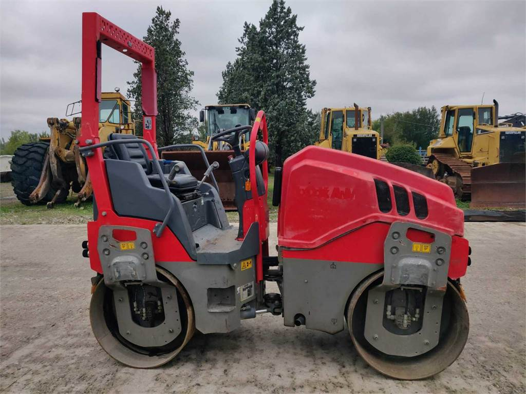 Hamm HD 10 VV, Twin drum rollers, Construction Equipment