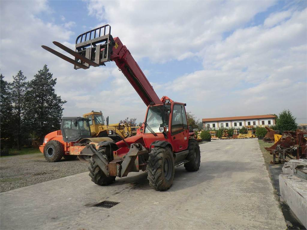Manitou MT 1235 S, Telescopic Handlers, Construction Equipment