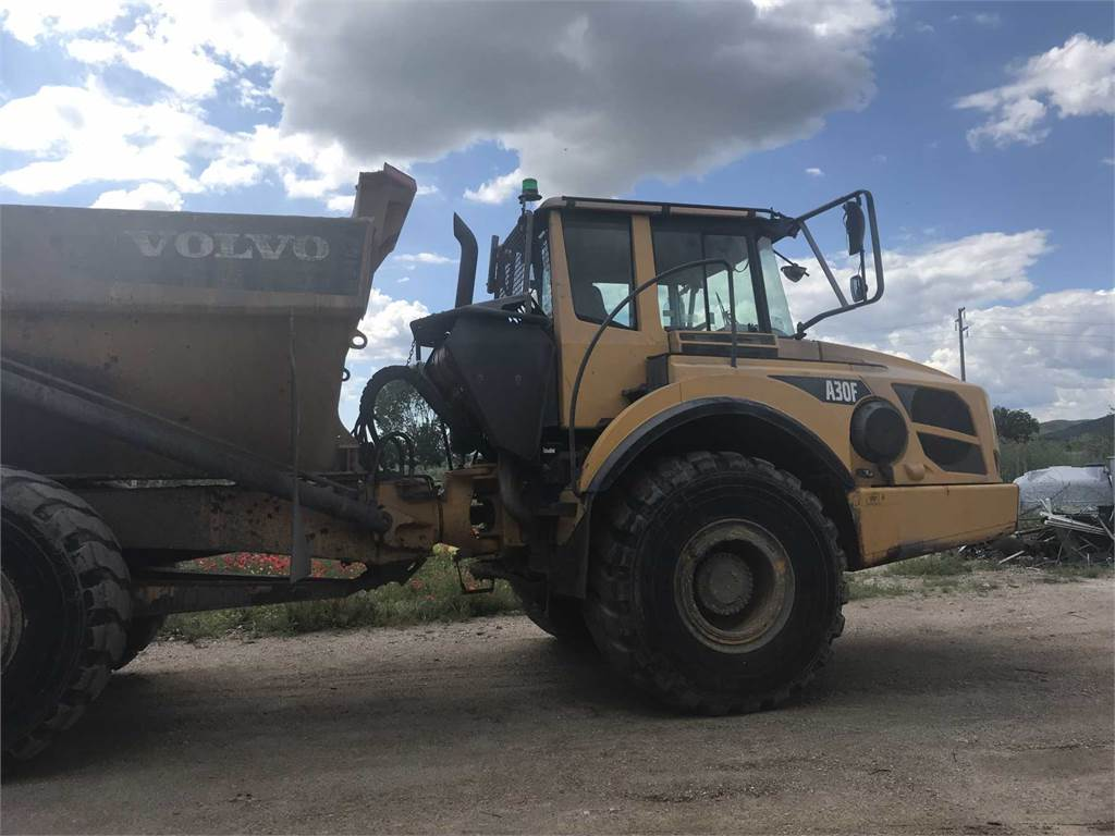 Volvo A30F, Articulated Dump Trucks (ADTs), Construction Equipment