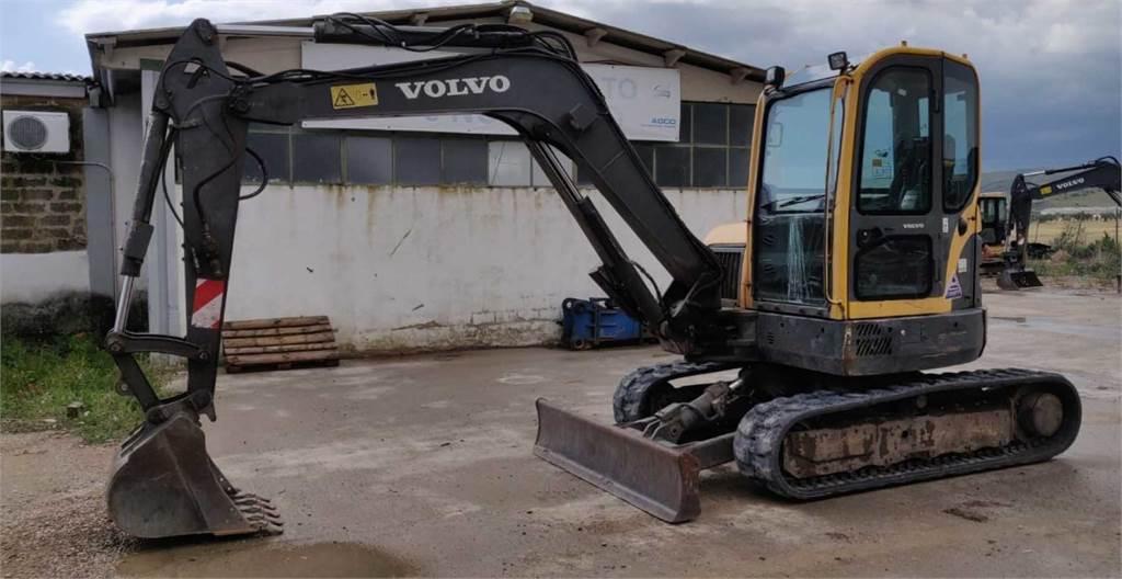 Volvo ECR58, Crawler Excavators, Construction Equipment