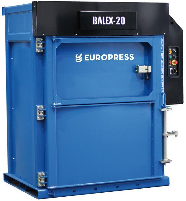 Europress Balex-20, Waste sorting equipment, Construction