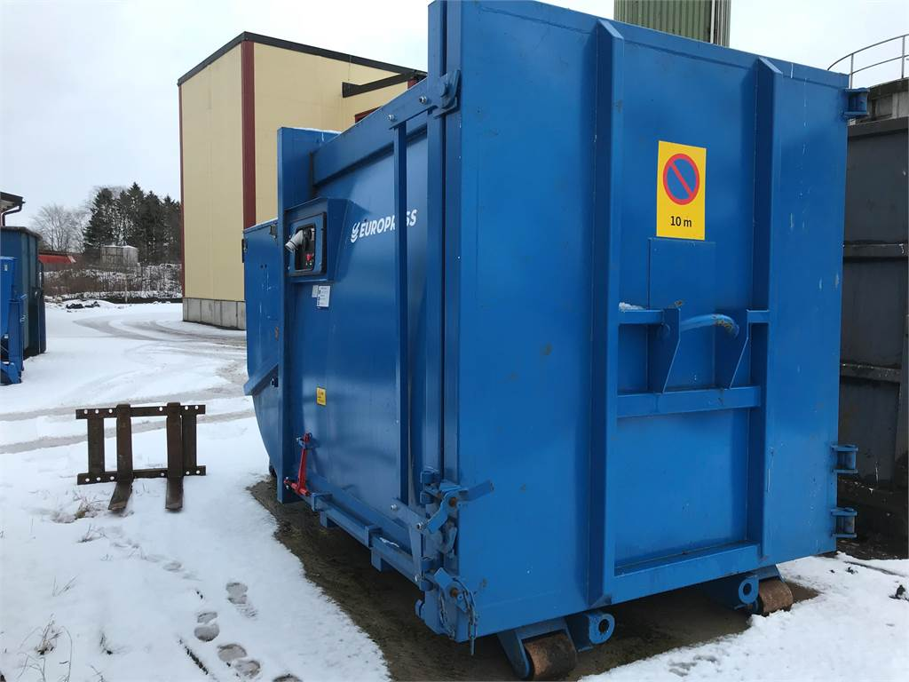 Europress Combio 10, Waste sorting equipment, Construction