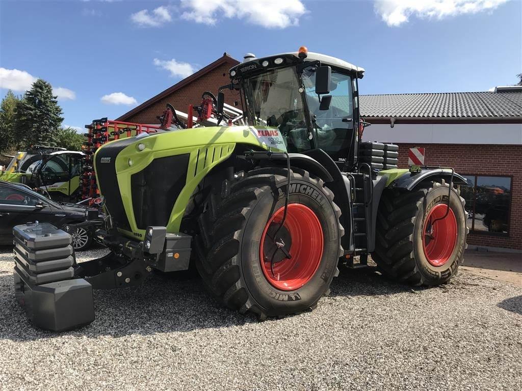 CLAAS XERION 5000 TRAC Dæk tryk regulering