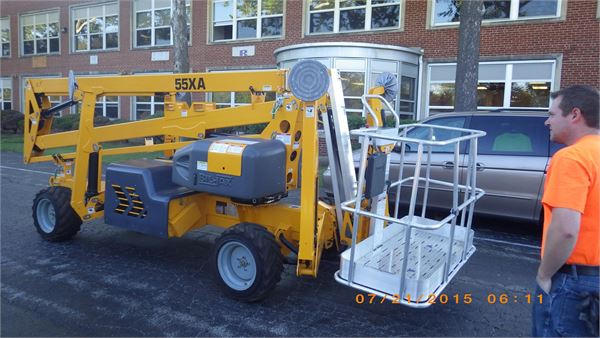 Bil-Jax 55XA, Articulated boom lifts, Construction Equipment