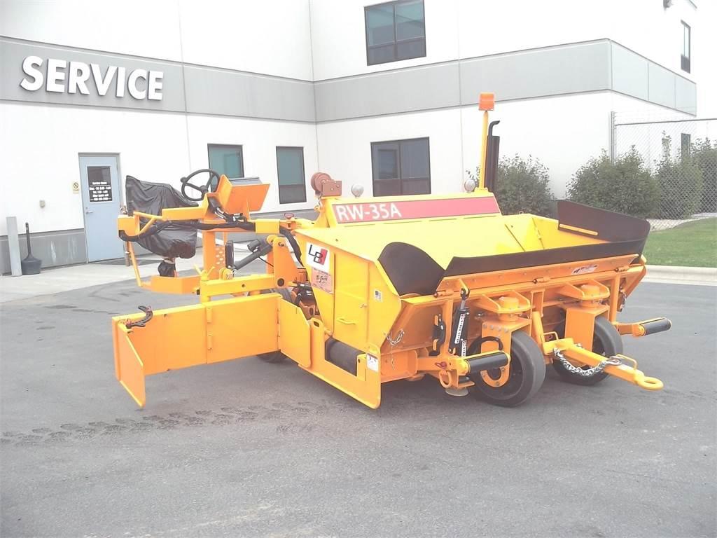 Blaw-Knox RW35A, Asphalt pavers, Construction Equipment