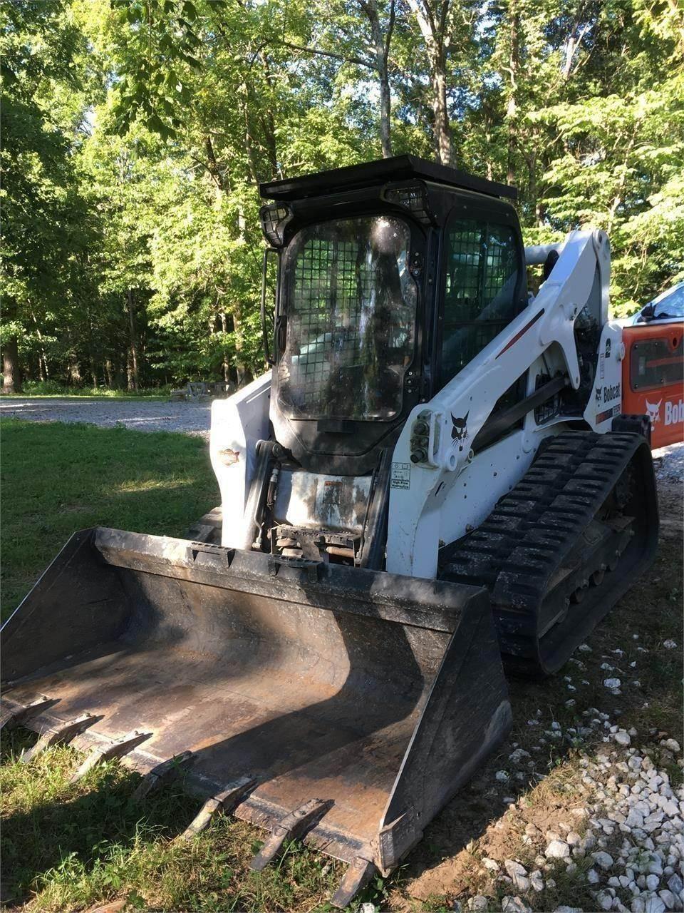Bobcat T650, Skid Steer Loaders, Construction Equipment