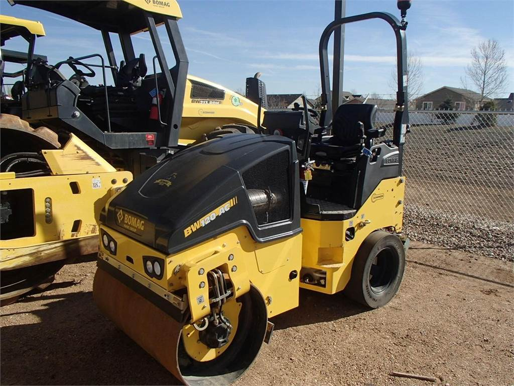 Bomag BW120AC-5, Combi rollers, Construction Equipment