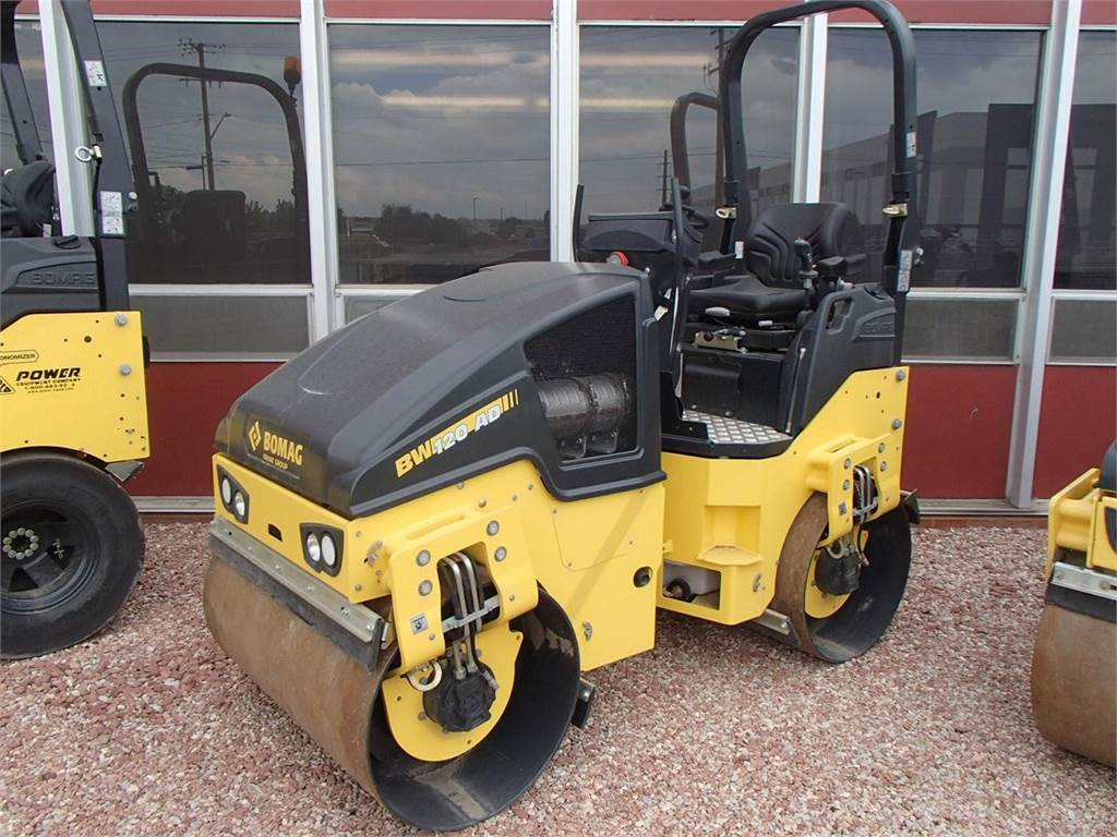 Bomag BW120AD-5, Single drum rollers, Construction Equipment