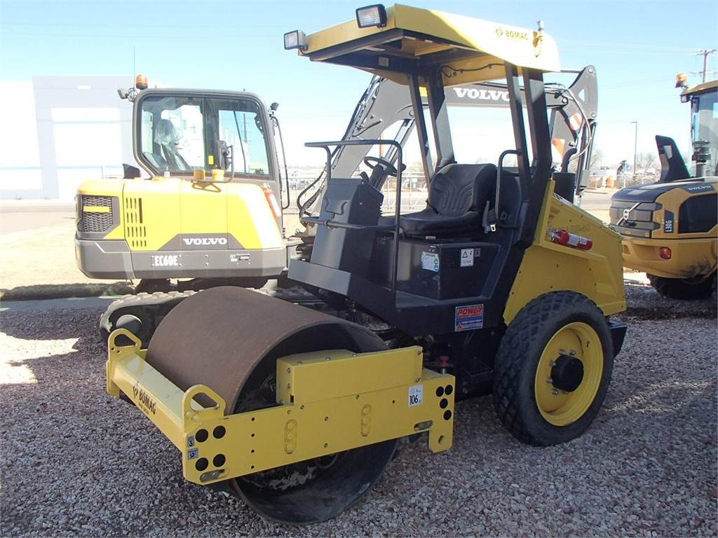 Bomag BW124DH-40, Asphalt Compactors, Construction Equipment