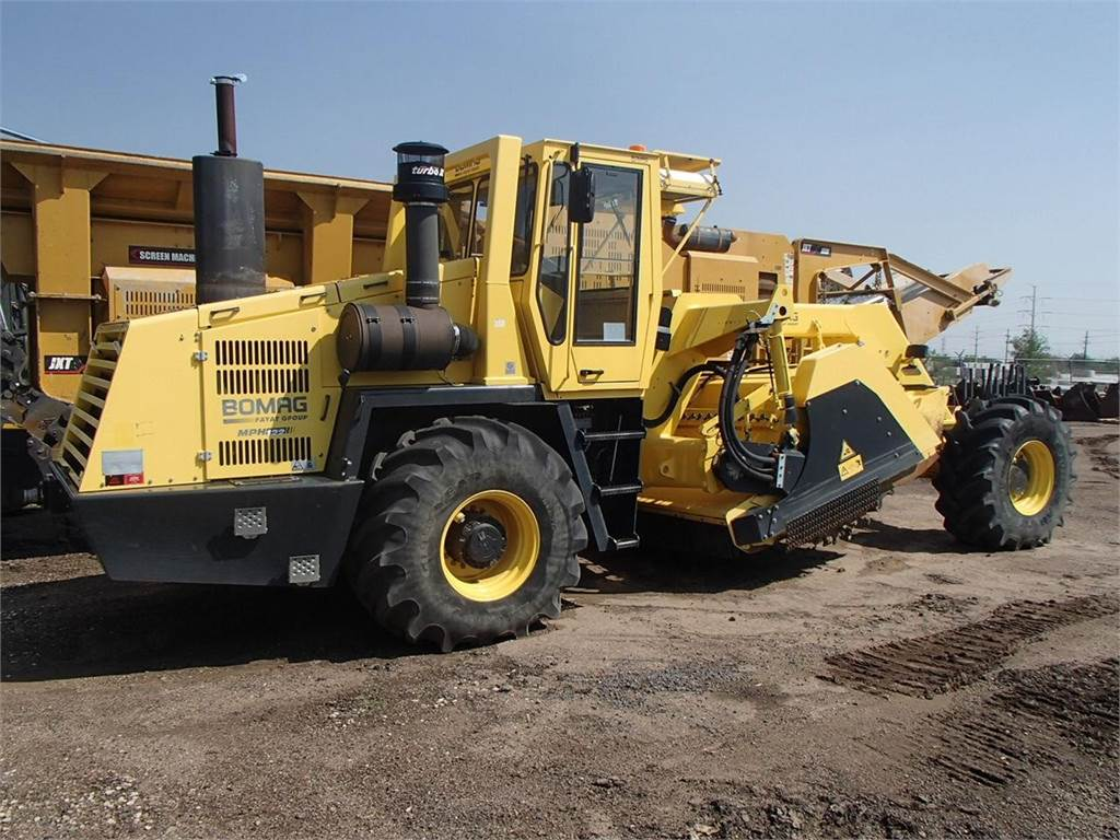 Bomag MPH122-2, Asphalt pavers, Construction Equipment