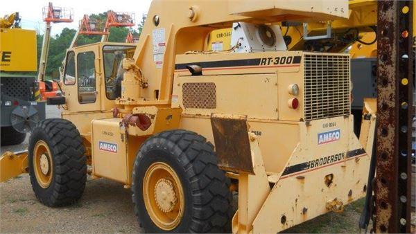 Broderson RT300-2C, Rough Terrain Cranes, Construction Equipment