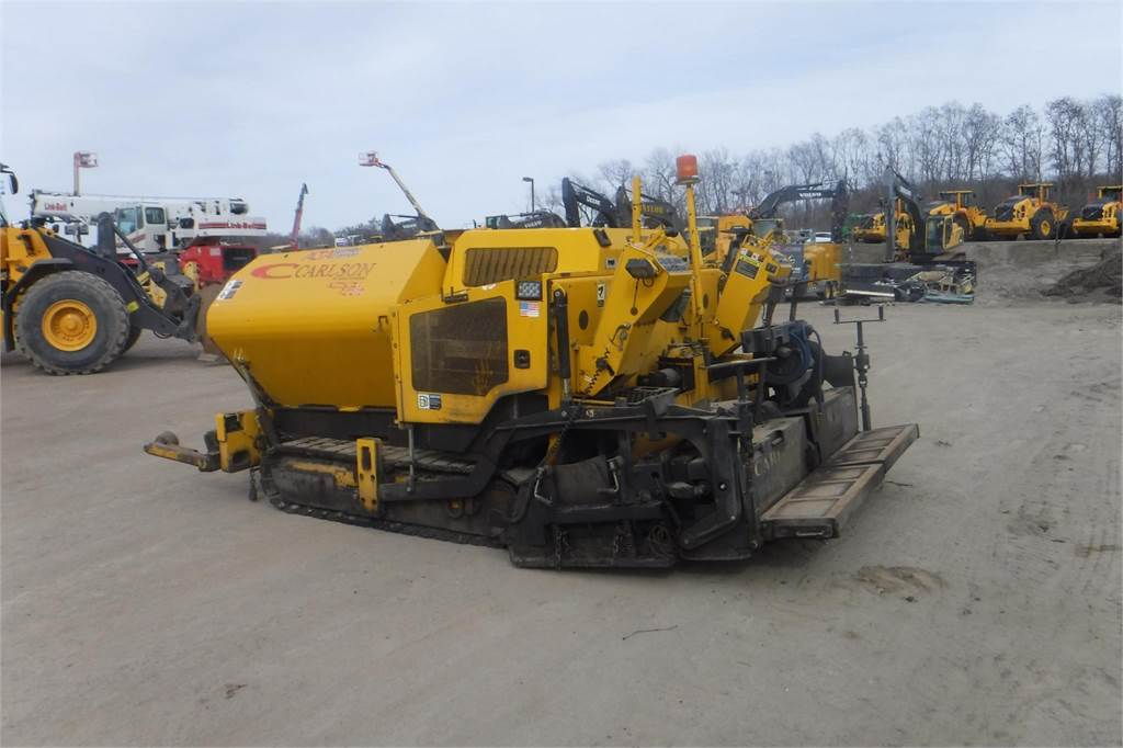 Carlson CP100, Asphalt pavers, Construction Equipment