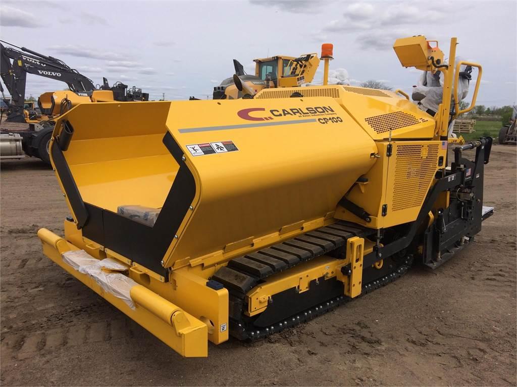 Carlson CP100, Asphalt pavers, Construction Equipment