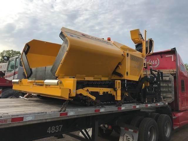 Carlson CP100II, Asphalt pavers, Construction Equipment