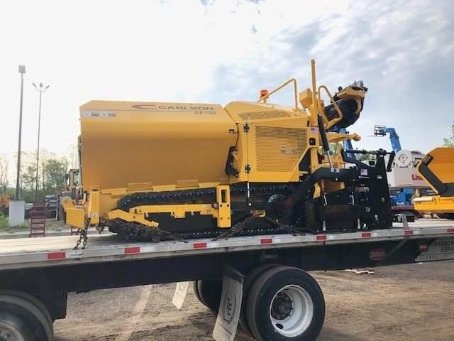 Carlson CP130, Asphalt pavers, Construction Equipment