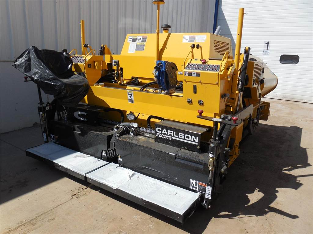 Carlson CP75 II, Asphalt pavers, Construction Equipment
