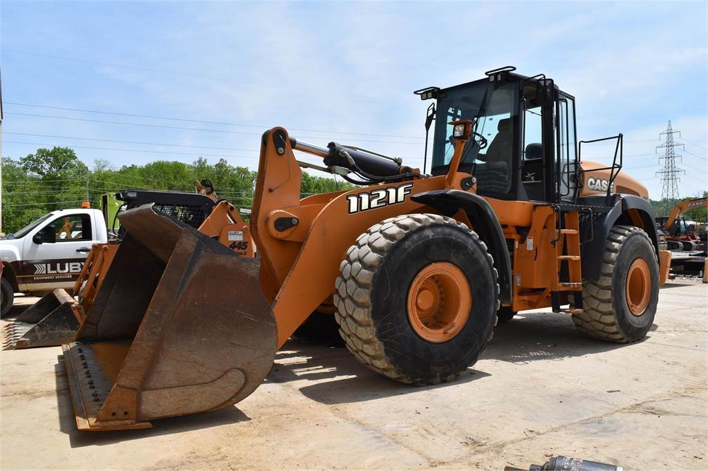 CASE 1121F, Wheel Loaders, Construction Equipment