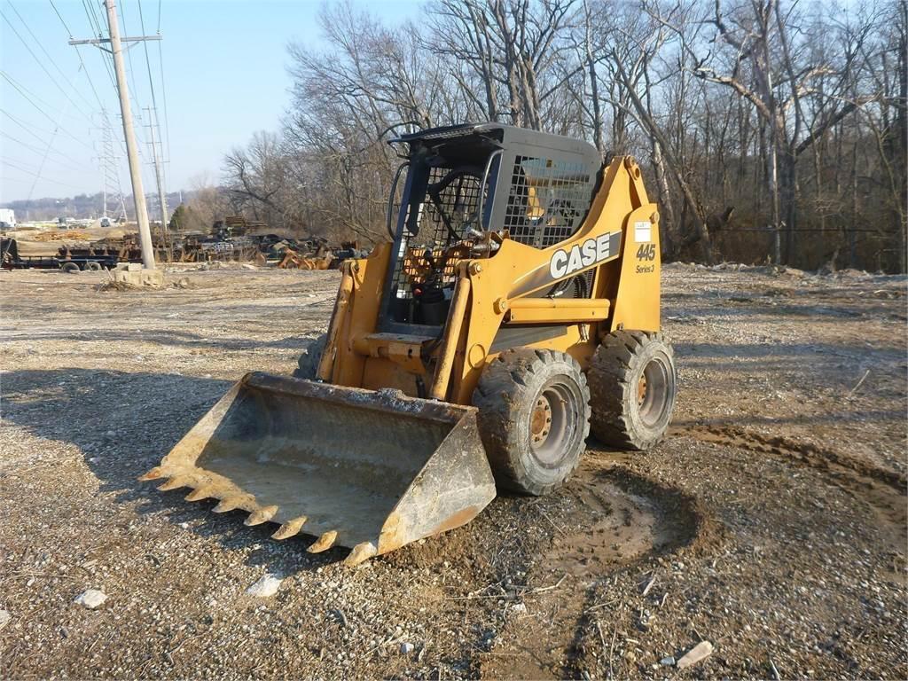 CASE 445, Skid Steer Loaders, Construction Equipment