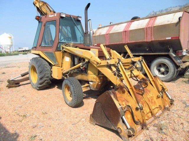 CASE 580E, Backhoe Loaders, Construction Equipment
