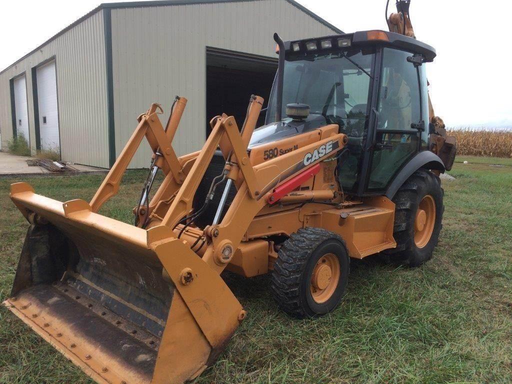 CASE 580SM, Backhoe Loaders, Construction Equipment